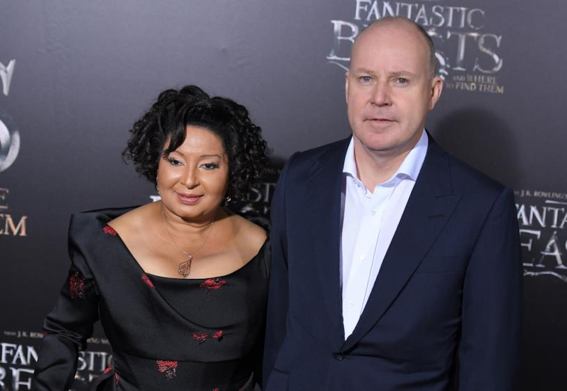 David Yates e Yvonne Walcott