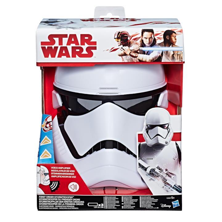 Il casco da collezione dello Stormtrooper