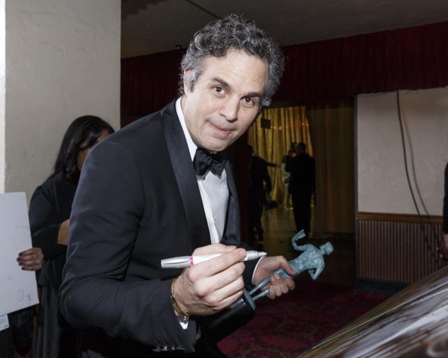 Il candidato all'Oscar Mark Ruffalo