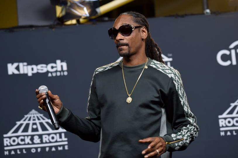 Snoop Dog mentre fuma