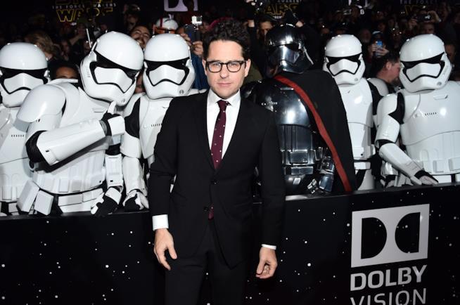 J.J. Abrams alla premiere di Star Wars - Episodio VII