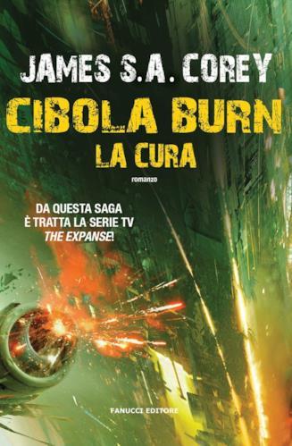 Copertina del quarto romanzo della serie The Expanse, Cibola Burn