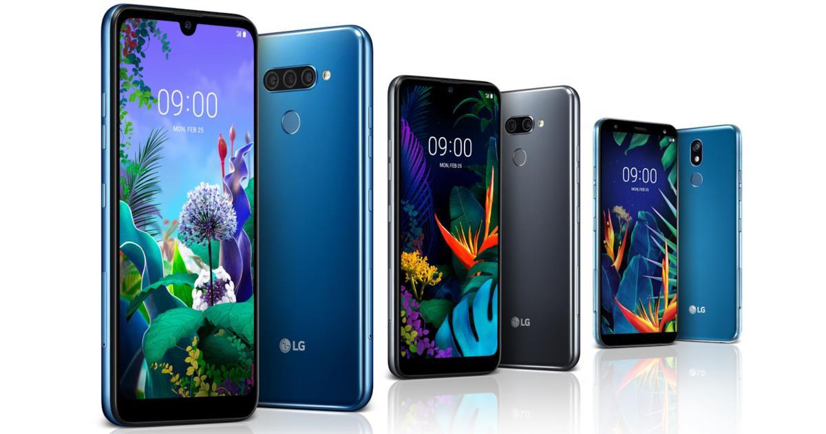LG presenta i nuovi smartphone Q60, K50 e K40 prima del MWC 2019