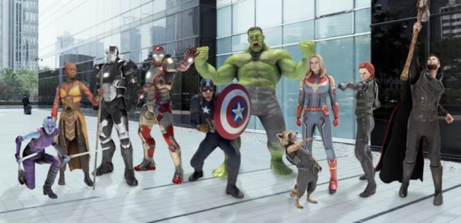 Le Playmoji degli eroi del MCU in esclusiva per i Google Pixel