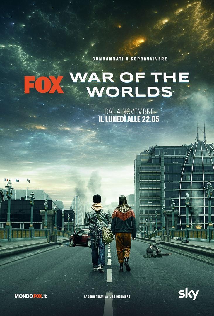 La locandina de La Guerra dei Mondi in arrivo su FOX