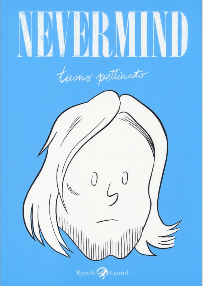 La copertina di Nevermind, fumetto di Tuono Pettinato