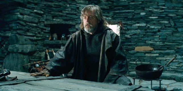 Luke nelle scene tagliate de Gli Ultimi Jedi