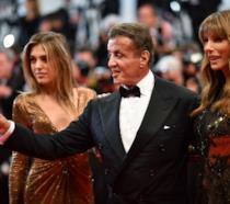 Sylvester Stallone sul red carpet del Festival di Cannes