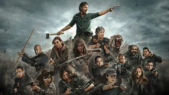 I protagonisti di The Walking Dead