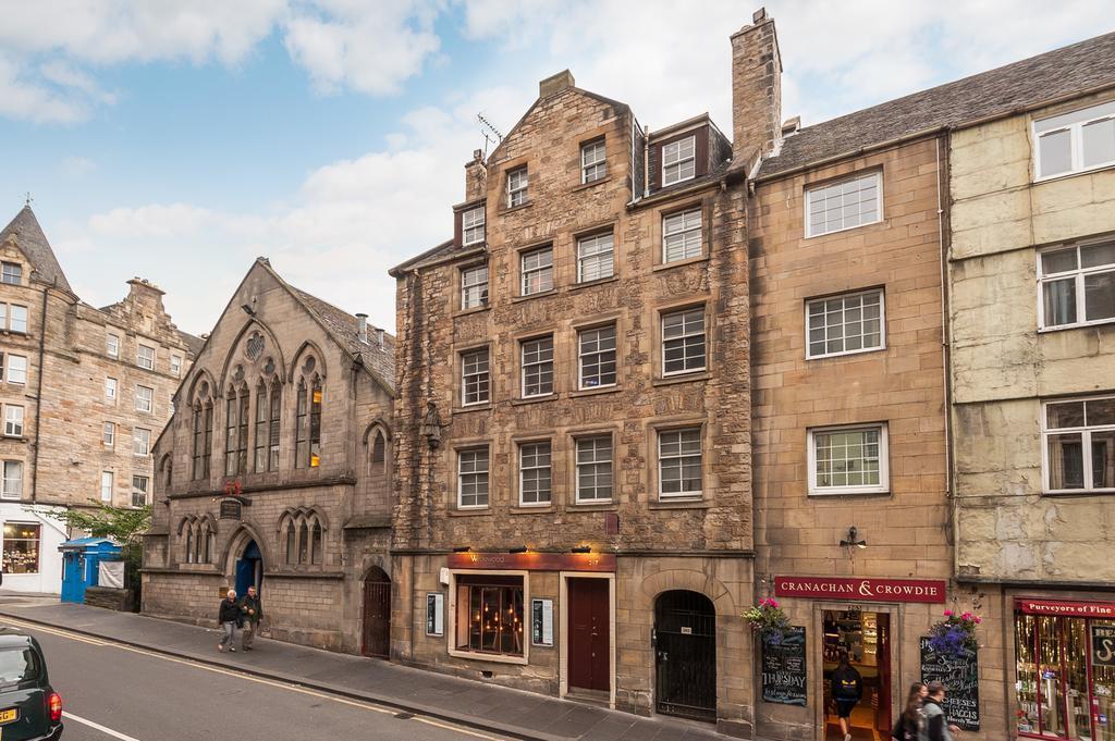 Canongate Luxury Apartment a Edimburgo: panoramica dell'edificio
