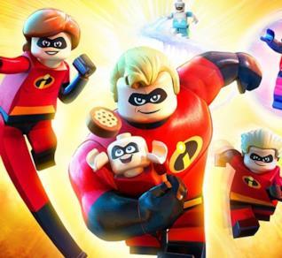 La famiglia Parr in versione LEGO