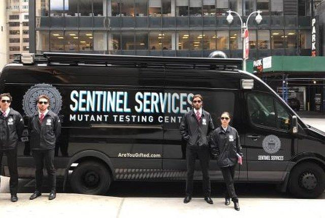 Il veicolo Sentinel Service di New York