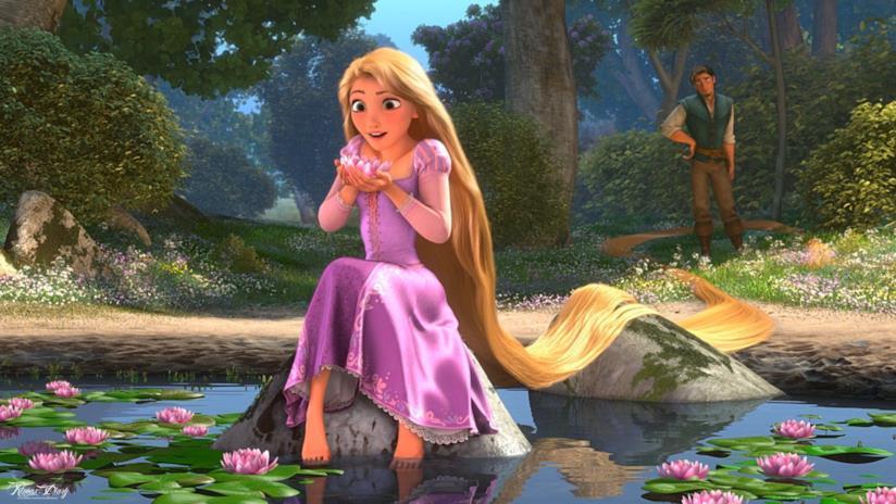 Rapunzel in Kingdom Hearts 3