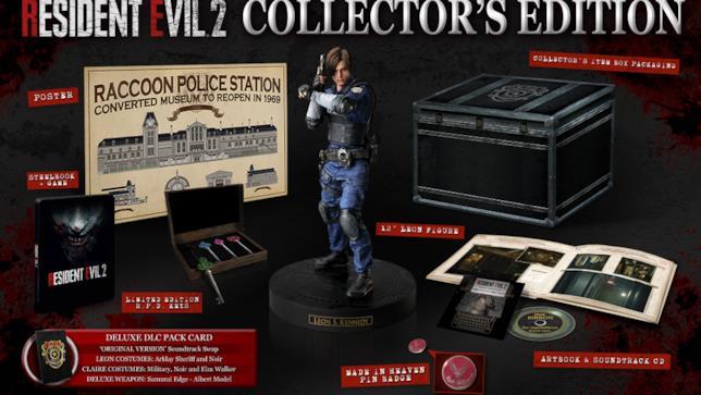 Un'immagine della Collector's di Resident Evil 2