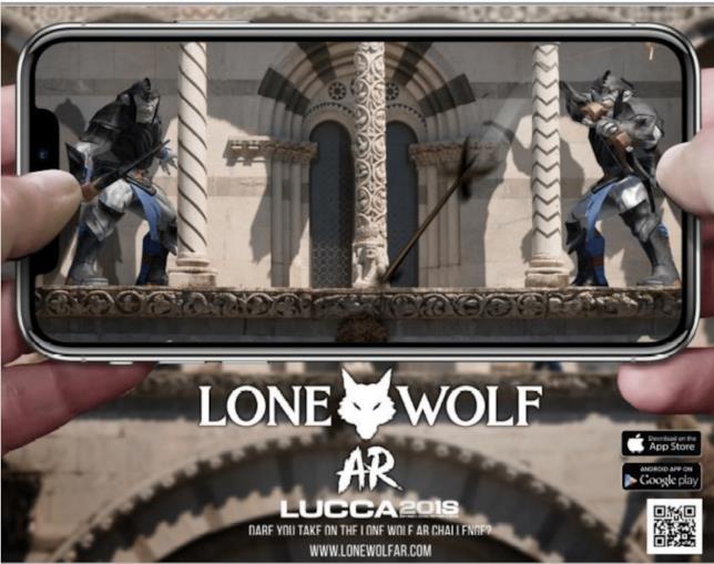 Lone Wolf AR, gioco di ruolo in realtà aumentata