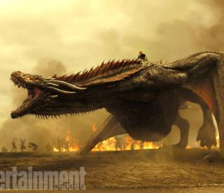Game of Thrones 7: la fotogallery con le nuove immagini dei protagonisti e dei draghi