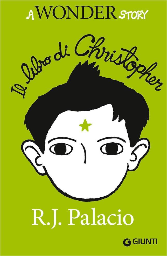 Christopher su sfondo verde