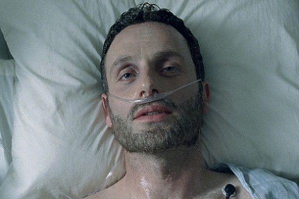 Rick Grimes risvegliatosi dal coma