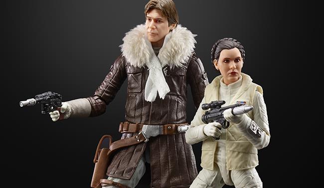 Han e Leia nelle Black Series di Star Wars