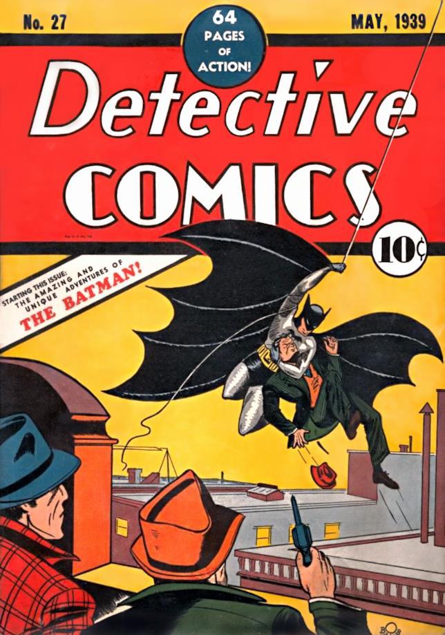 Copertina del numero 27 di Detective Comics