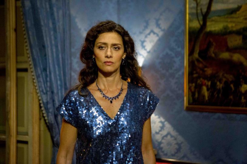 Maria Fernanda Cândido nei panni di Cristina