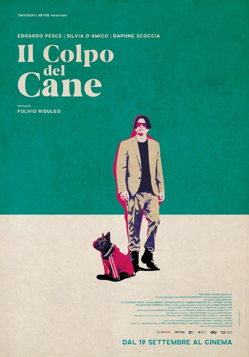 Il poster del film Il colpo del cane