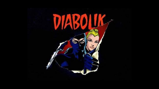 Diabolik ed Eva Kant nel fumetto