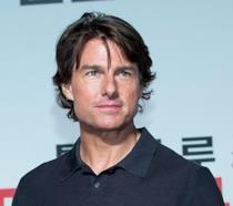 Tom Cruise alla premiere coreana di Mission Impossible 5: Rogue Nation.