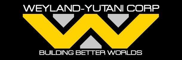 Il logo di Alien Weyland-Yutani Corp