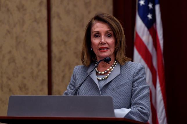 La speaker della Camera USA Nancy Pelosi