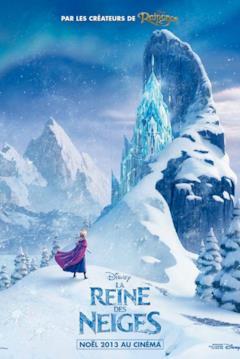 La Reine des Neiges: poster francese di Frozen