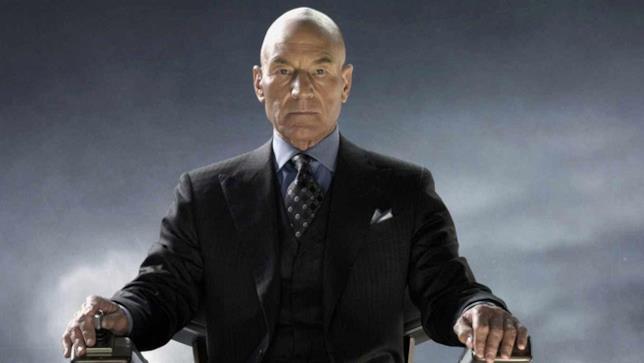 Professor X alias Patrick Stewart