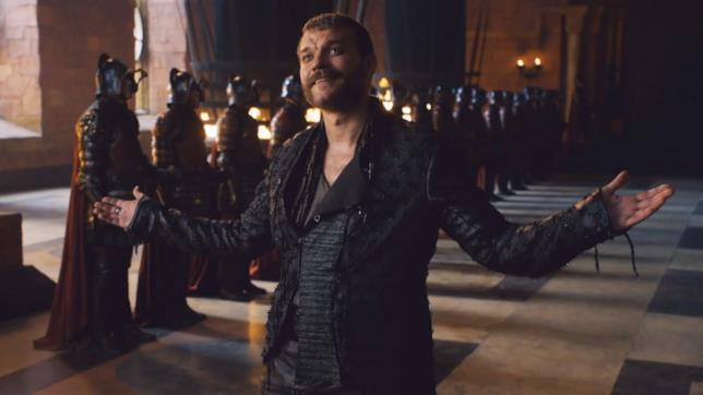 John Philip Asbæk è Euron Greyjoy in Game of Thrones