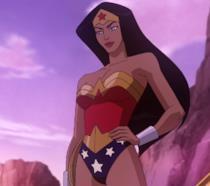 Wonder Woman nel film di animazione uscito nel 2009