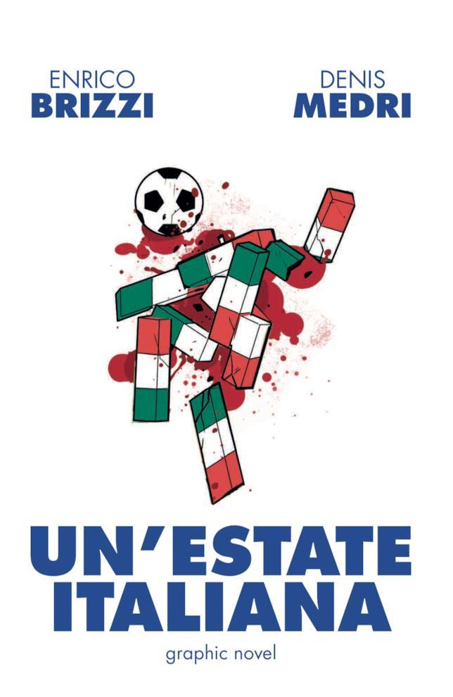 La copertina del fumetto ambientato durante mondiali '90