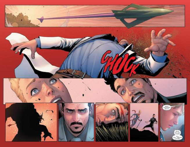 La morte di Bruce Banner in Civil War II #3