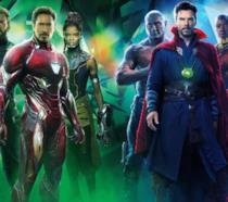 I protagonisti di Infinity War in un poster promozionale del film