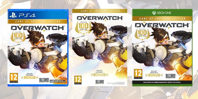 Overwatch è disponibile su PC, PlayStation 4 e Xbox One