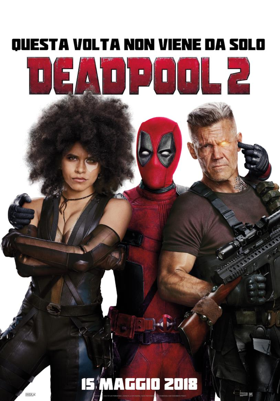 Locandina di Deadpool 2