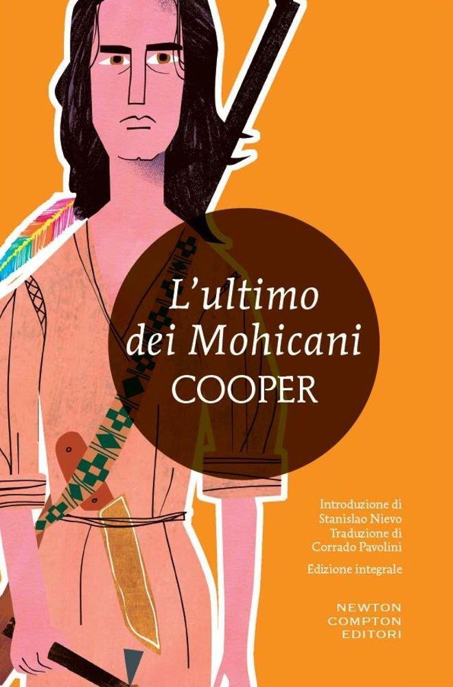 L'ultimo dei mohicani: la copertina del libro