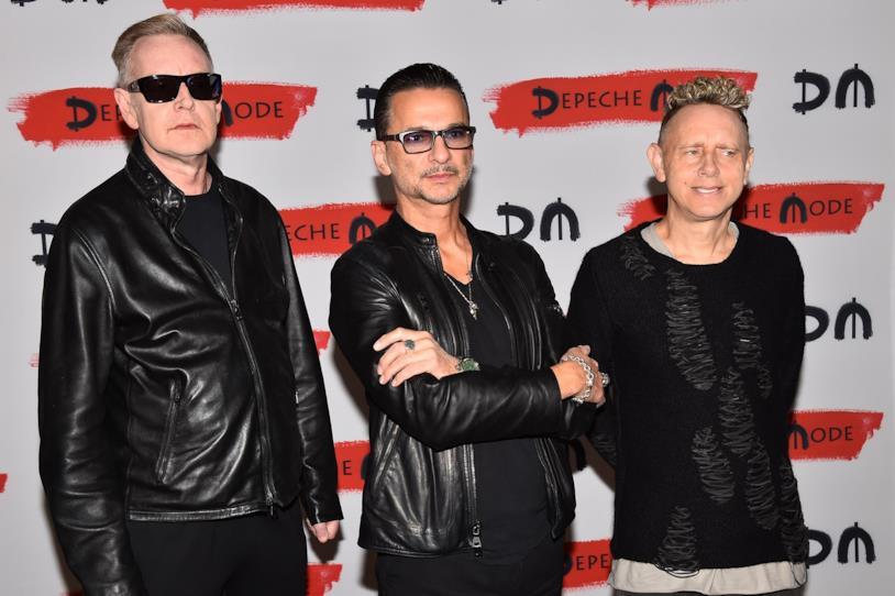 Andy Flatcher, Dave Gahan e Martin Gore dei Depeche Mode