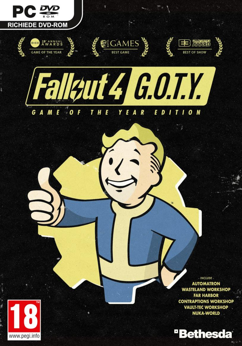 Fallout 4: Game of the Year Edition è ufficiale