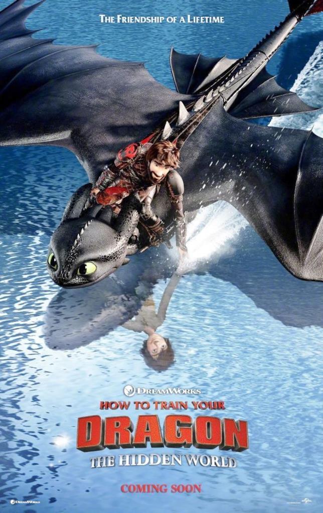 Uno splendido poster ufficiale del terzo capitolo di Dragon Trainer
