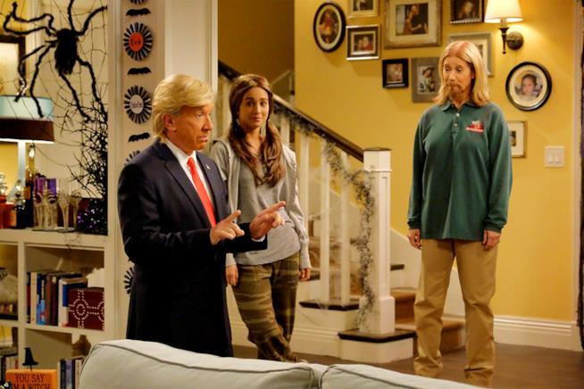 Tim Allen vestito da Donald Trump