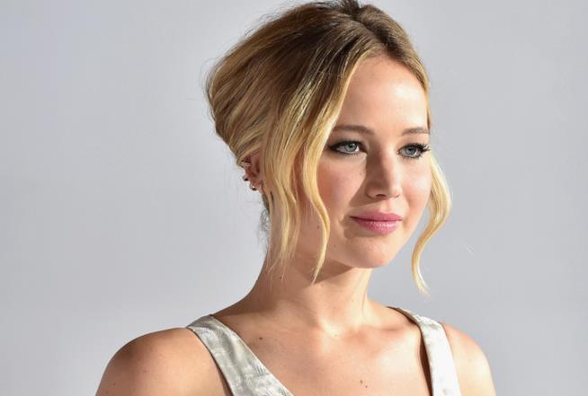 Un primo piano di Jennifer Lawrence