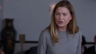 Meredith in un'immagine dall'episodio 350 di Grey's aNATOMY
