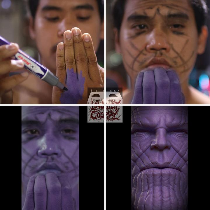 Low cost Cosplay: Thanos