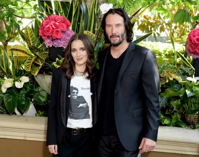 Winona Ryder: 'Io e Keanu Reeves sposati davvero sul set di Dracula'