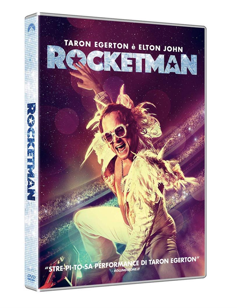 Copertina del DVD di Rocketman