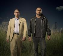 Immagine promozionale di Prison Break con i due personaggi principali
